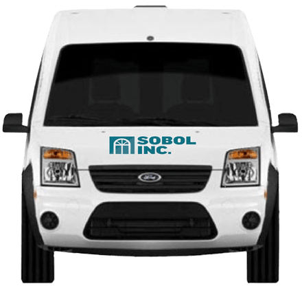 Sobol truck front view